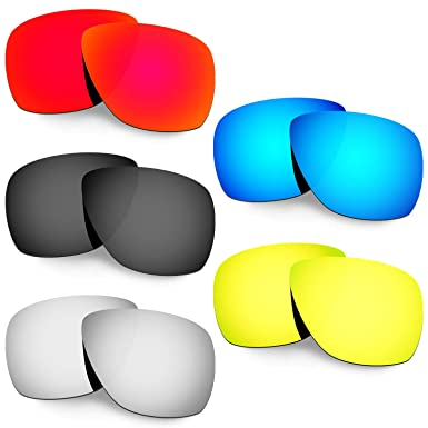 HKUCO Plus Mens Replacement Lenses For Oakley Half Wire 2.0-5 pair