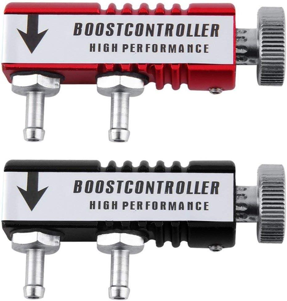 LIANQI Universal Rennwagen Turbo Boost Controller Turbo Turbine Regelventil Manuelle Boost Controller 3 farboption Hei/ßer