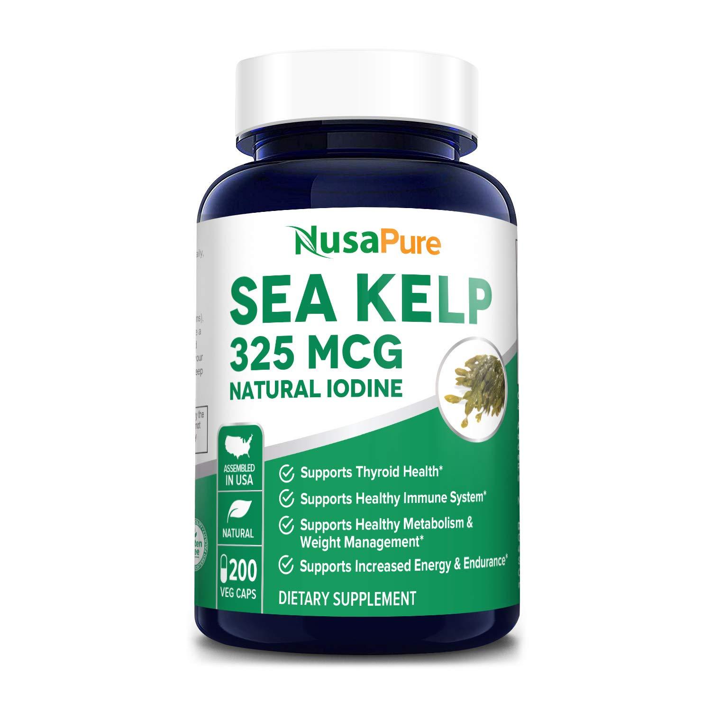 Sea Kelp 325mcg 200 Veggie Capsules