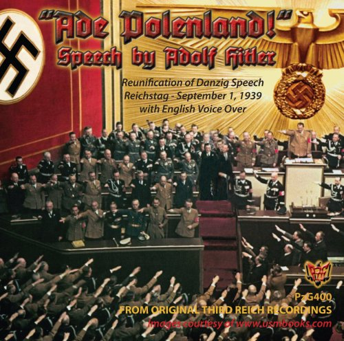 Price comparison product image Ade Polenland Speech by Adolf Hitler