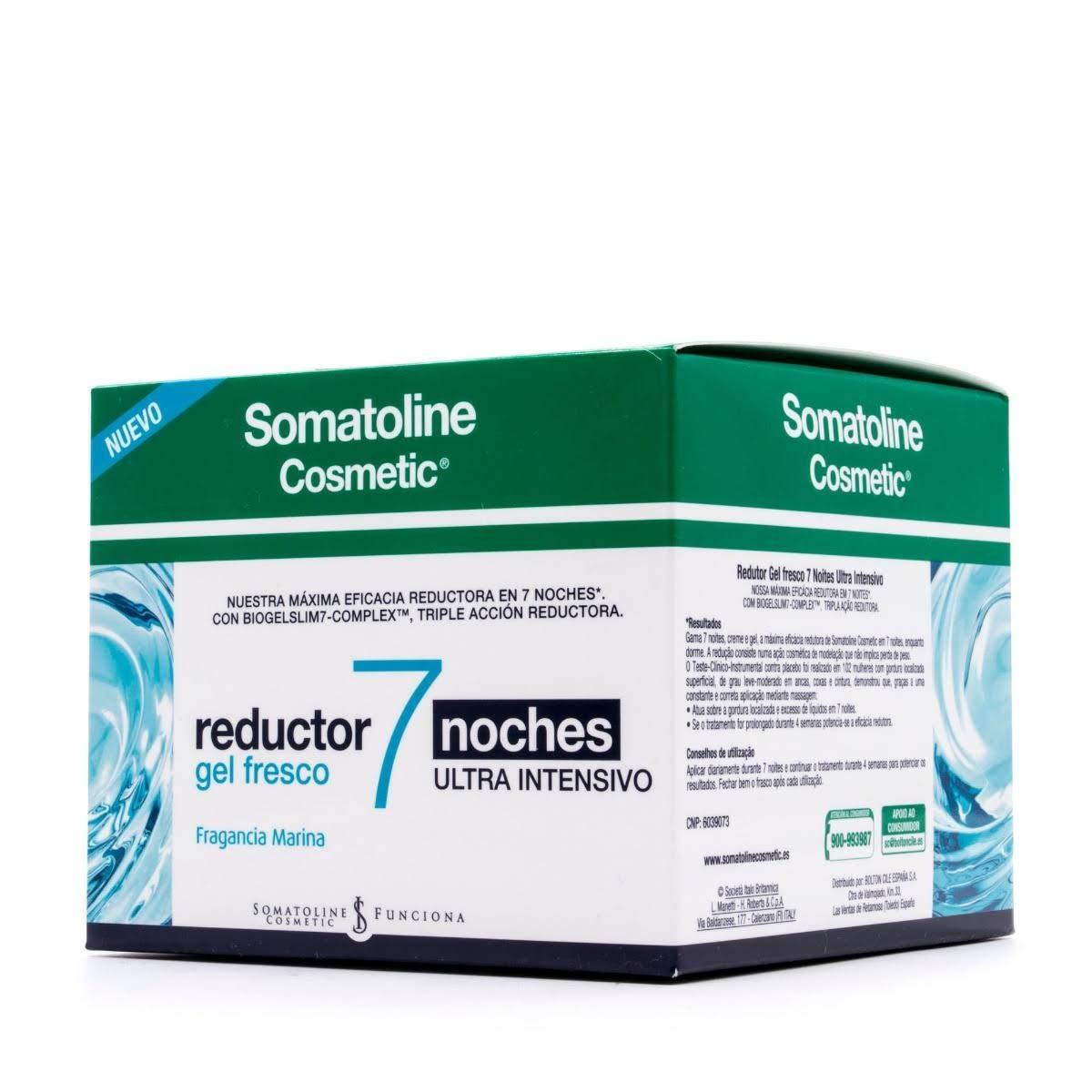 Somatoline Cosmetic Reductor 7 Noches Ultra Intensivo Gel Fresco, 250 ml