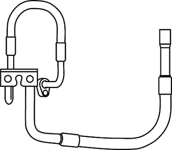BEHR HELLA SERVICE 9GS 351 337-271 *** PREMIUM LINE *** Tubería de baja/alta presión, aire acondicionado, de compresor aire acondicionado a condensador: ...