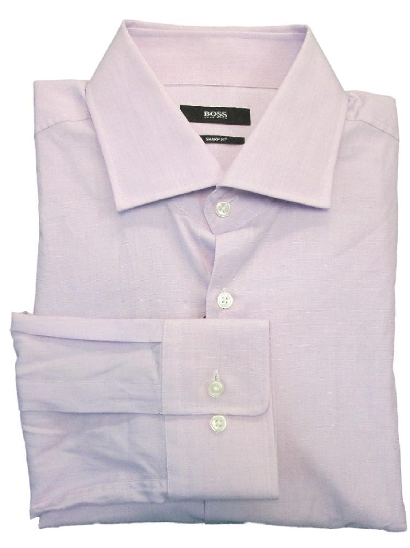 Amazon.com: Hugo Boss 'Miles' Sharp Fit Dress Shirt (17