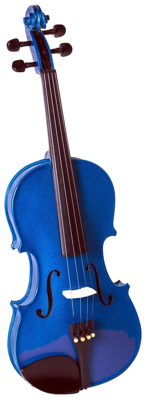 Cremona SV-75 Premier Novice Violin Outfit - Sparkling Blue - 4/4 Size