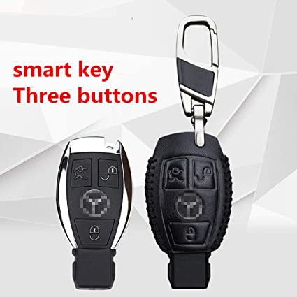 Amazon.com: Smart 2/3button Leather Key Cover Bag Fob Shell ...