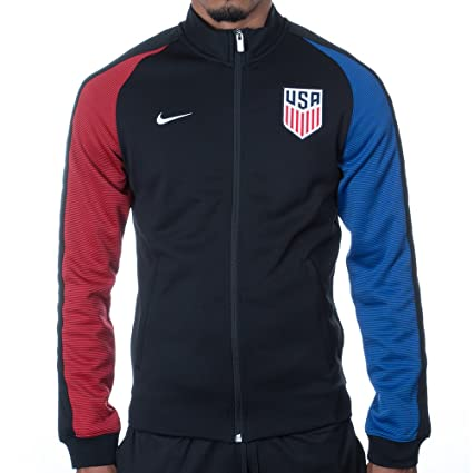 b24b677f09 Image Unavailable. Image not available for. Color  Nike N98 USA Authentic  Track Soccer Jacket ...