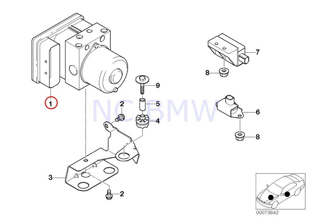 Amazon Com Genuine Bmw Repair Kit For Dsc Control Unit 34516756293