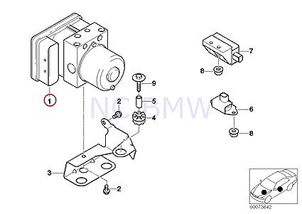 Amazon com: GENUINE BMW Repair Kit for DSC Control Unit 34516756293