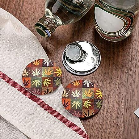 Abrebotellas, patrón de hojas de hierba de cannabis, imán de nevera, abridor de botellas de cerveza, imán de cocina, sacacorchos, 2 piezas