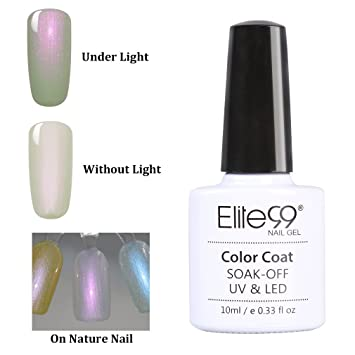 Elite99 Shell Nail Gel Polish Soak Off UV LED Nail Lacquer Colourful ...