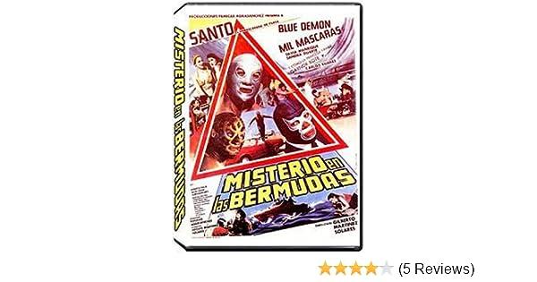 Amazon.com: Misterio En Las Bermudas: Santo, Blue Demon, Mil Máscaras, Silvia Manríquez, Sandra Duarte, Carlos Suárez, Gaynor Kote, Ernesto Solís, ...