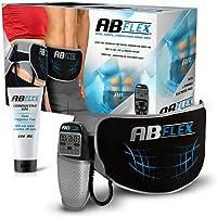 ABFLEX Toning riem voor slank getinte buikspieren, handige afstandsbediening voor snelle en eenvoudige instellingen.