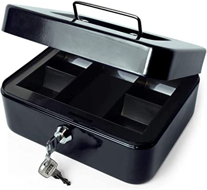 iGadgitz Home U7170 Caja Fuerte Portatil Caja Metalica con Llave y ...