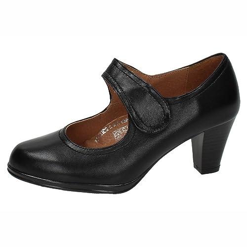 1a99c32f786 MADE IN SPAIN 5043 Tacones DE Piel Mujer Zapatos TACÓN  Amazon.es ...