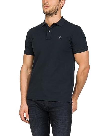 acc1d7f5 Replay Men's M3661 .000.22450v Polo Shirt, Black (Blackboard 99), Small