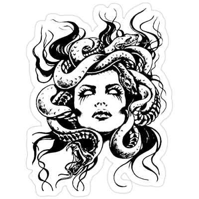 Big Lens store Medusa Stickers (3 Pcs/Pack): Kitchen & Dining