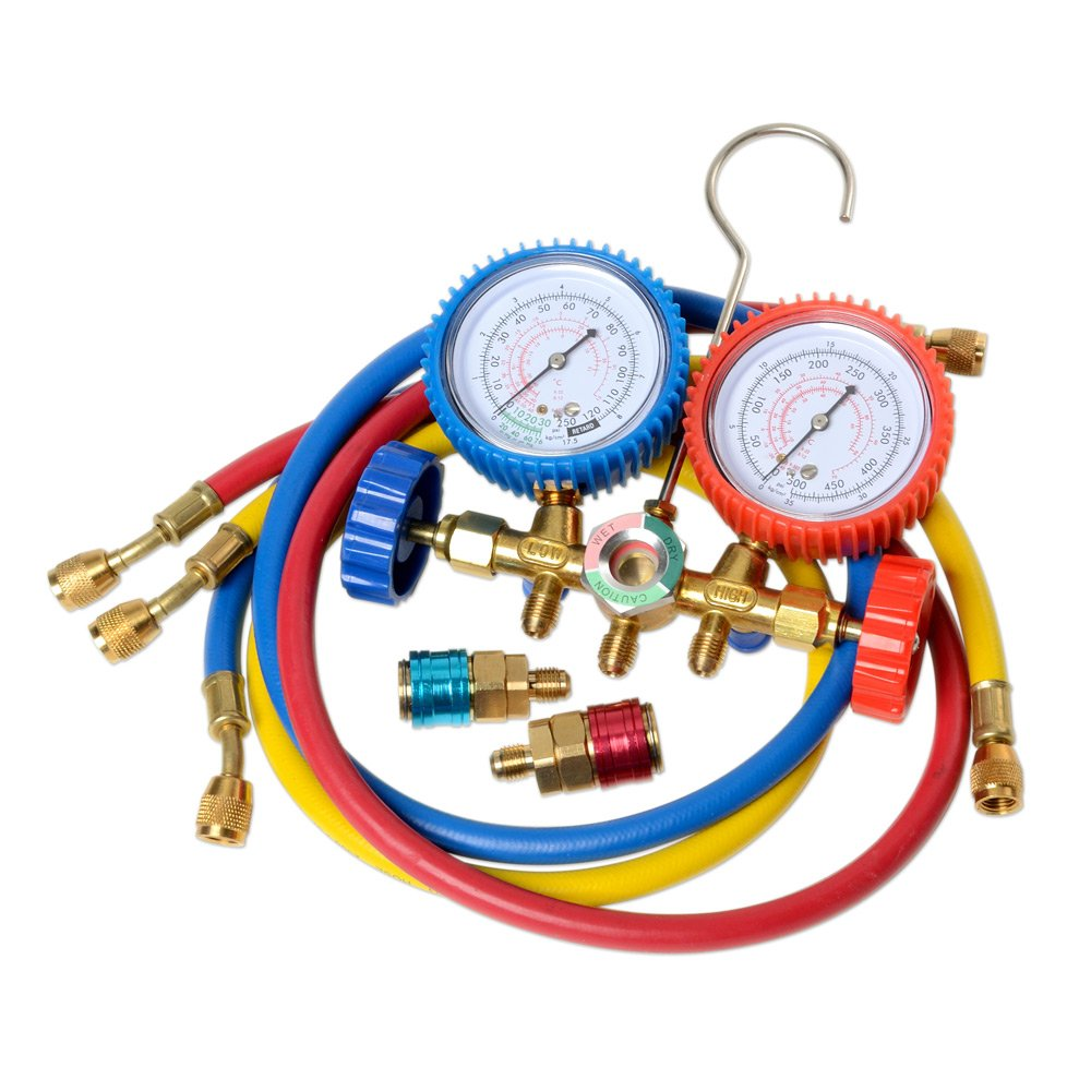 A/C Manifold Gauges Set: Amazon ca: Tools & Home Improvement