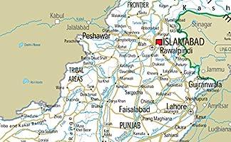 Pakistan Road Map - Paper Laminated (A2 Size 42 x 59 4 cm): Amazon