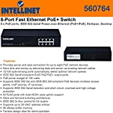 Intellinet 8-Port PoE+ Desktop Switch (560764)
