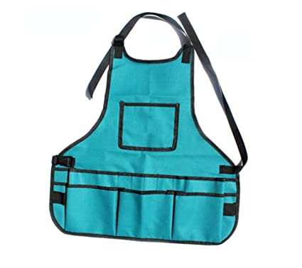 2ca67be2f35 Amazon.com: Haosen-six Fashion Apron Denim Fabric Vest-style Nail ...