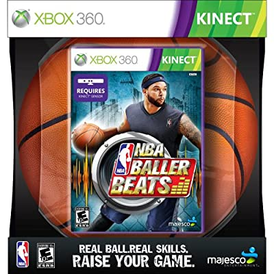 NBA Baller Beats Xbox 360 Kinect Basketball Game 01772 from Majesco Sales Inc.
