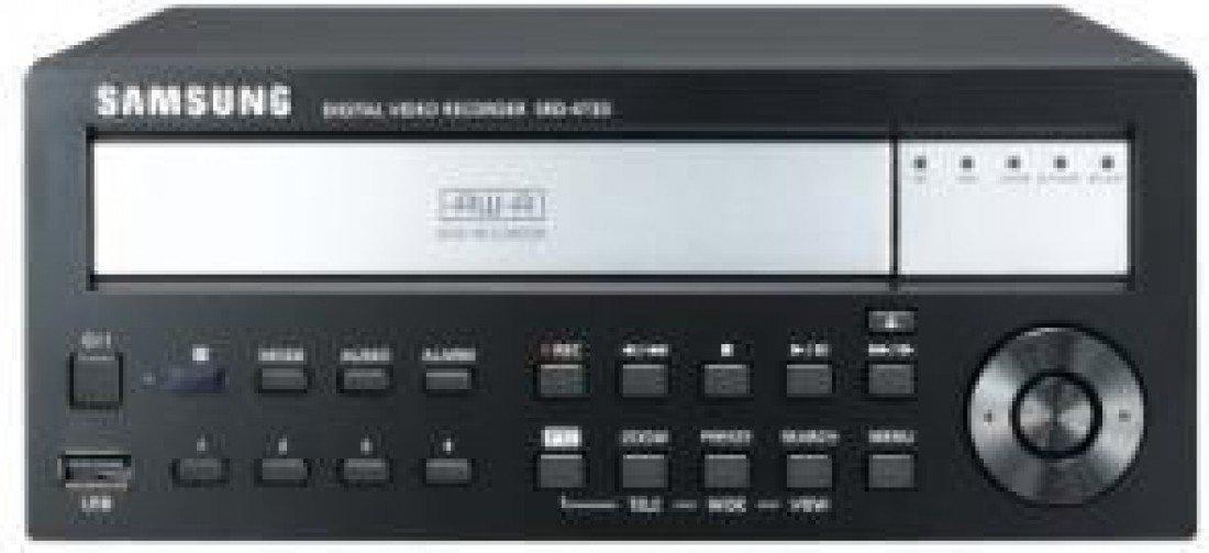 SS302 - SAMSUNG SRD-473D 4 Kanal 4CIF H, 264 DIGITAL VIDEO RECORDER 100FPS CMS 1080 P CCTV Smartphone kompatibel