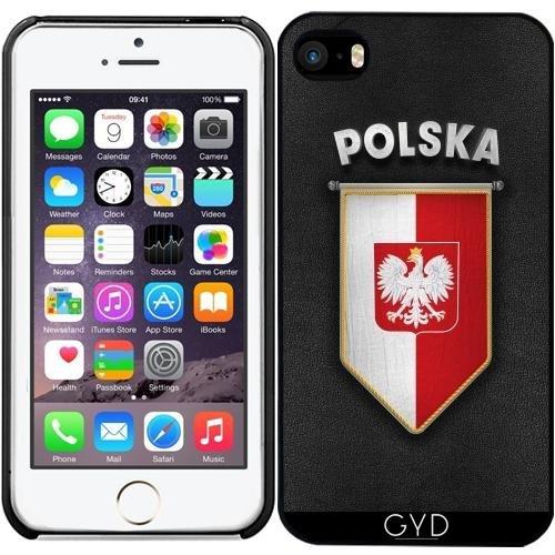 Coque pour Iphone SE - Pologne Fanion Avec Une Grande Quali by Carsten Reisinger