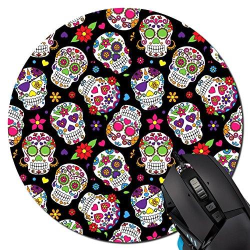 DANIEL MOXLEYB Day Of The Dead Sugar Skull Mouse pad Gaming