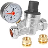 PRESSURE REDUCING VALVE C/W GAUGE 15MM / 22MM