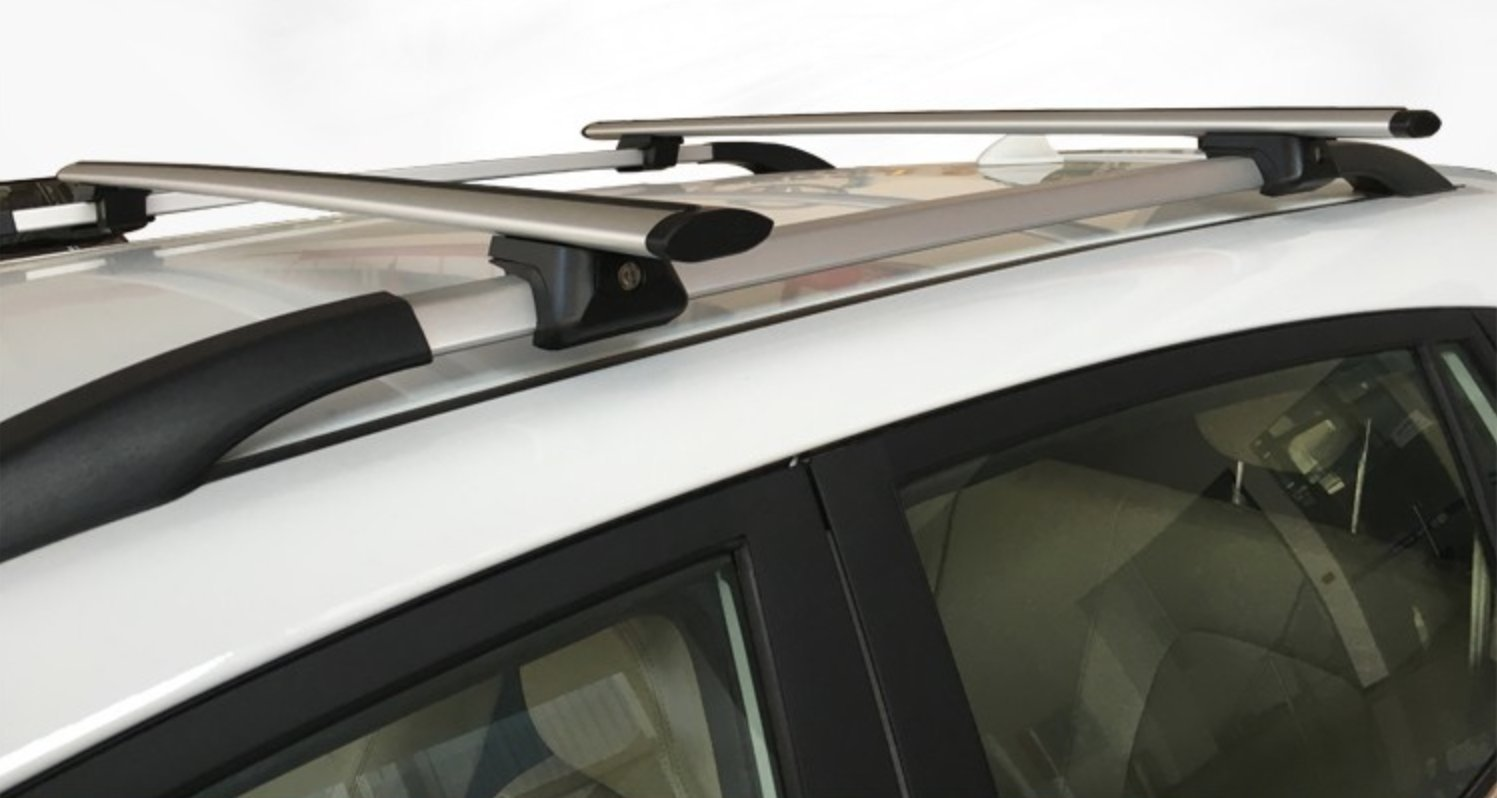 """Camping Adventures Trucks and SUVs Snowboarding and More Triten Universal Roof Rack Mount 53/"""" Locking Design Fits Most Cars Kayak Roof Rack Crossbars Ideal for Cargo Aerodynamic"""