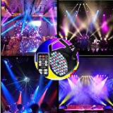 ELEOPTION Disco Lights Bulb Sound Activated 7 Color Changing RGB Magic Rotating Led Party Dance lights Lamp With Remote Control for Christmas DJ Karaoke KTV Wedding Outdoor Holidays (54LEDs)