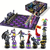 The Batman Chess Set ( The Dark Knight vs The Joker )