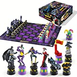 (US) Batman Dark Knight vs The Joker Chess Set by Noble Collection