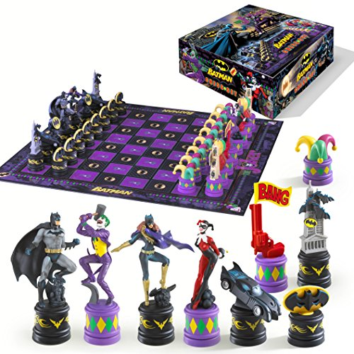 The Batman Chess Set (The Dark Knight vs The Joker)]()