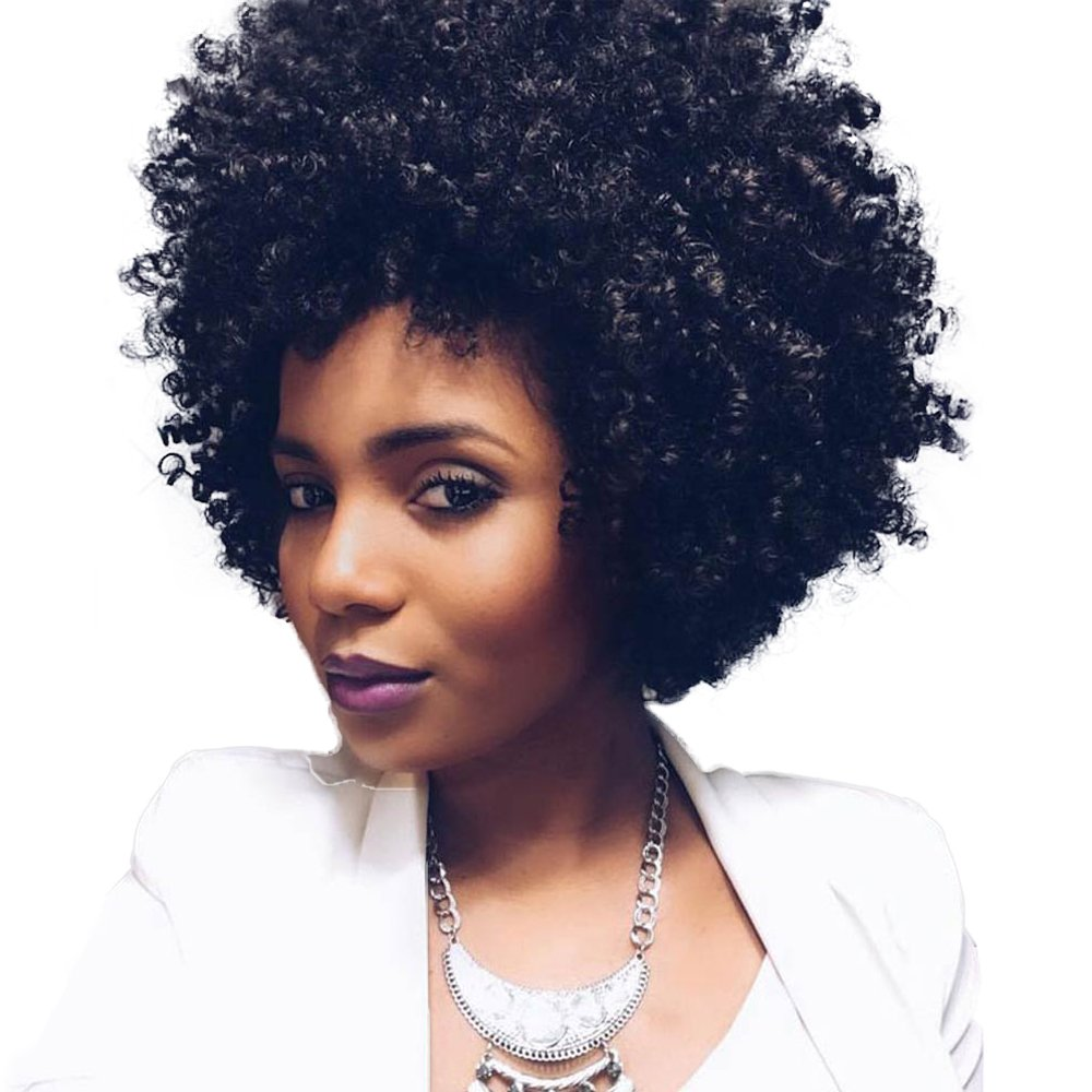 natural beautiful black woman