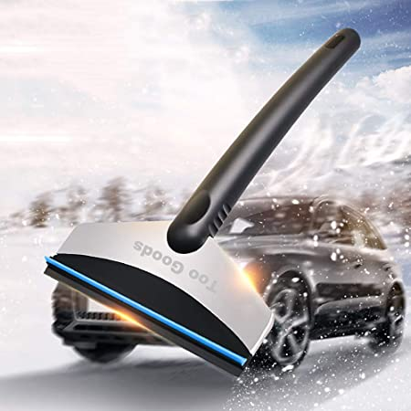 Car Vehicle Stainless Steel Snow Ice Scraper Windows and Windshields Shovel