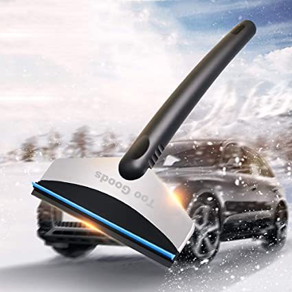 Tools New Fashion Premium Ice Scrape Heavy Duty Frost And Snow Removal For Car Windshield And Window Tool Cleaning Tools Snow Shovel#sw