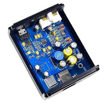 F Fityle Mini Tarjeta de Sonido DAC USB SA9023 + ES9018K2M ...