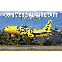 2021 Commercial Aircraft Deluxe Wall Calendar