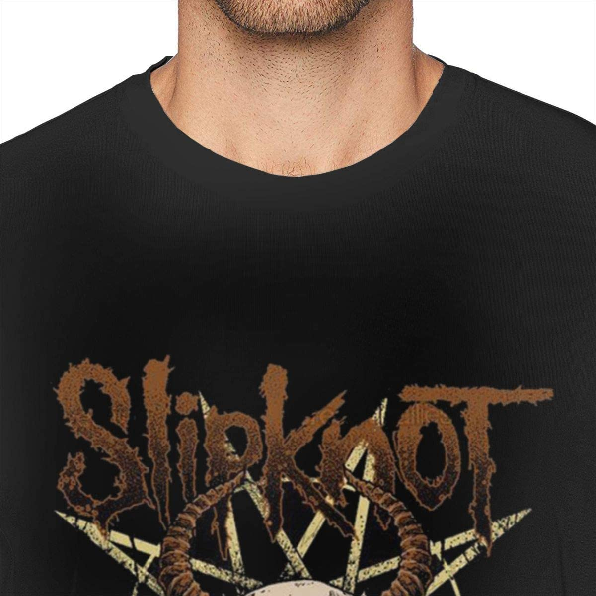 Livetees Slipknot Hombres Comfort Camiseta Black M: Amazon.es ...