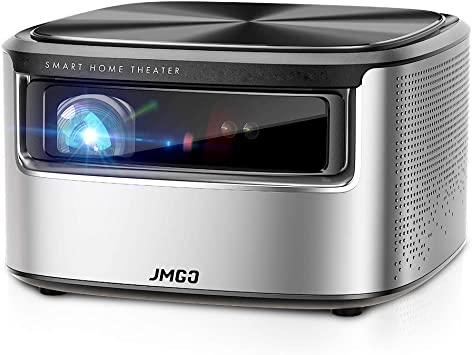 JMGO N7 Native 1080P Projector, 4K Supported, 1400 ANSI Lumen, HDR 10, Auto Focus, Keystone Correction,DLP, Dolby, 3D, WiFi, Smart Home Cinema Video ...
