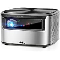 "JMGO N7 Native 1080P Full HD 4K Projector, 1300 ANSI lm, HDR 10, Auto Focus, Keystone Correction,DLP, Dolby, 3D, WiFi, Bluetooth Speaker, Smart Home Cinema Video Projector, 300"" Picture"