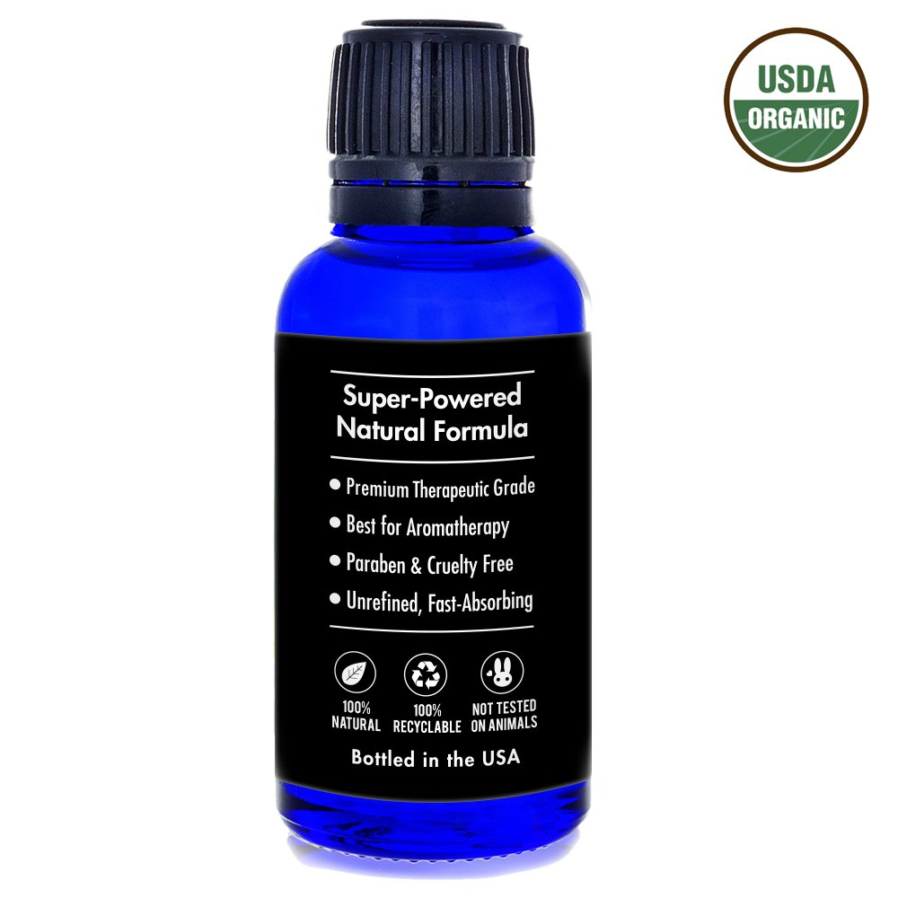 Aweganics Pure Eucalyptus Oil USDA Organic Essential Oils, 100% Pure Natural Premium Therapeutic Grade, Best Aromatherapy Scented-Oils for Diffuser, Home, Office, Personal Use - 1 OZ - MSRP $19.99 by AWEGANICS (Image #7)