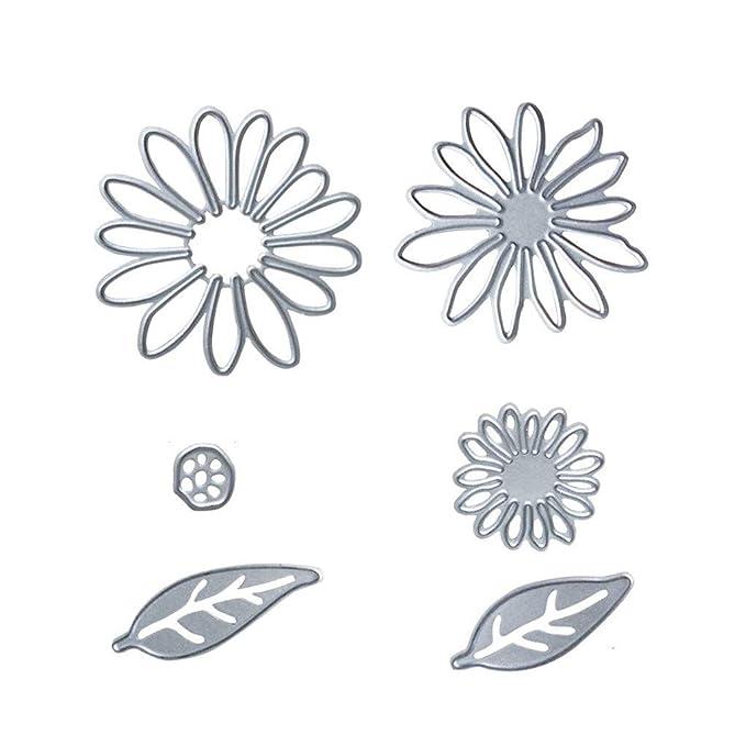 Amazon.com: Plantillas de corte de 6 piezas de metal para ...