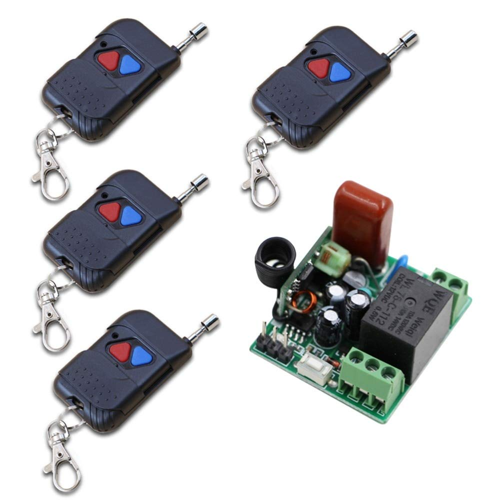 220V 315MHZ AC 220V 1 Way Relay Wireless Remote Control