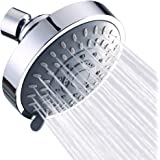 Shower Head High Pressure Rain Fixed Showerhead Rainfall 5-Setting with Adjustable Metal Swivel Ball Joint - Relaxed…