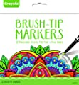 Crayola Brush Tip Makers Adult Coloring 32ct Novelty from Crayola