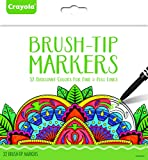 Best Brush Tip Markers - Crayola Brush Tip Makers Adult Coloring 32ct Novelty Review