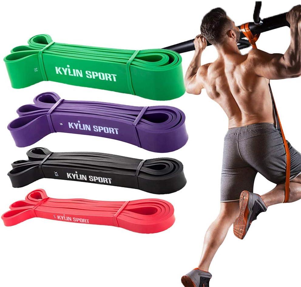 11tlg Fitnessbänder Resistance Expander Bänder Widerstandsband Gummiband Sport