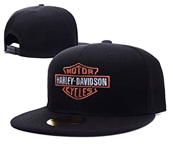 ANDREYD Harley Davidson Motorcycle Logo Adjustable Snapback Embroidery Hats  Caps 39260d0afce